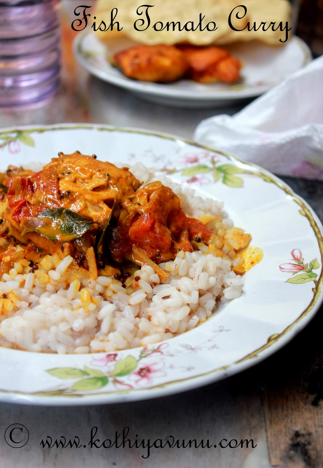 Fish Tomato Curry Recipe Thakkali Meen Curry Recipe Kerala Fish