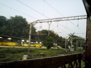 Rail line Mumbai central