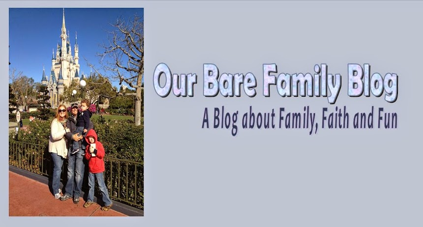 THE BARE FAMILY BLOGSPOT