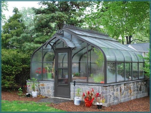 Фото теплиц на даче в дизайне