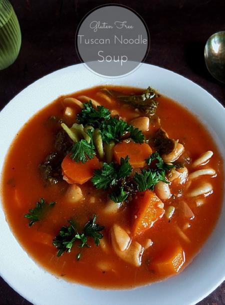 http://poorandglutenfree.blogspot.ca/2015/05/vegan-gluten-free-tuscan-noodle-soup.html