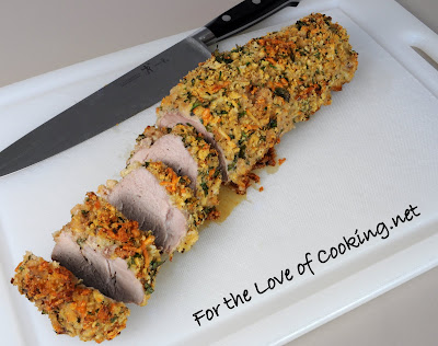 Mustard - Herb Crusted Pork Tenderloin