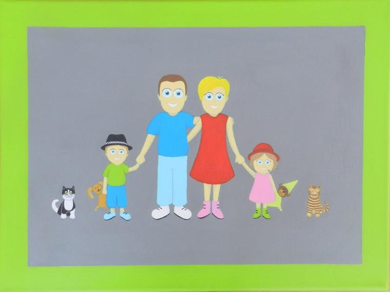 cadre de famille personnalisable