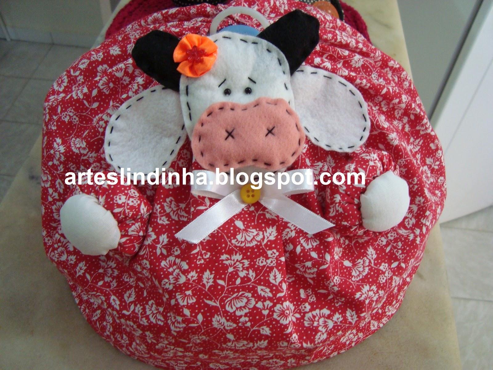 Adesivo Decorativo De Parede Cozinha ~ Gigi Artesanato Cobre bolo decorado, Abafador decorado em tecido
