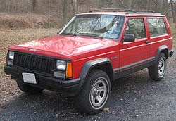 193 JEEP CHEROKEE XJ Service Manual