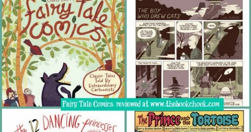 The Book Chook: Children's Book Review, Fairy Tale Comics