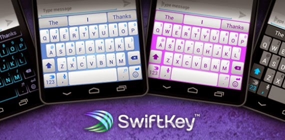 ... seperti swiftkey go keyboard smart keyboard dan masih banyak lagi