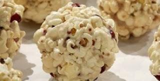 Decoracion de Navidad con Palomitas de Maiz o Popcorn