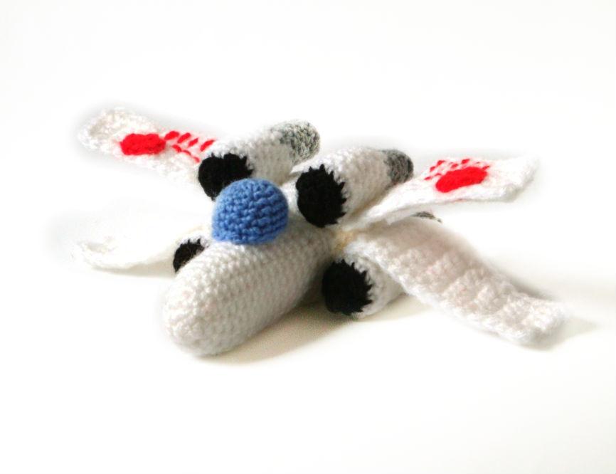 Crochet X Wing : ... Ships - Amigurumi Crochet Patterns Mysterious Cats Crochet Patterns