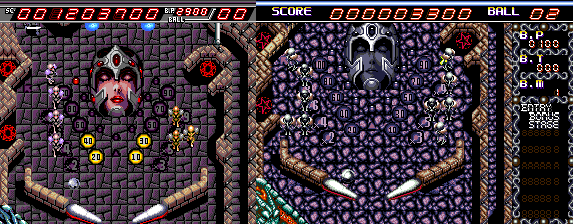 Devil's Crush (Dragon's Fury on Mega Drive)