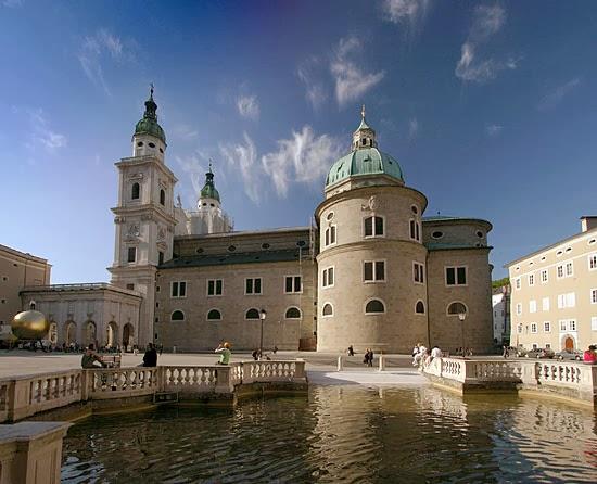 Salzburg-katedralen (Salzburger Dom), Østrig