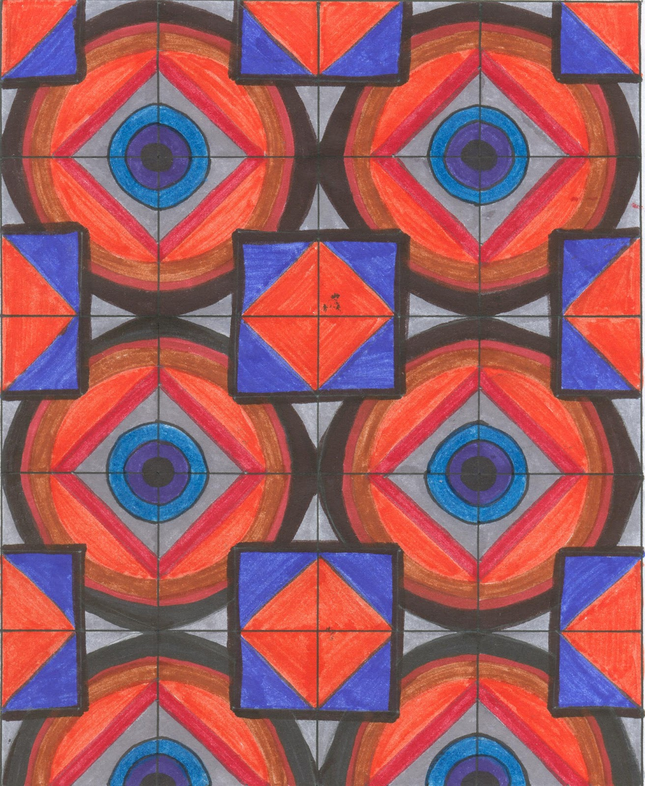 diseo modular en una red cuadrada - Diseos Modulares