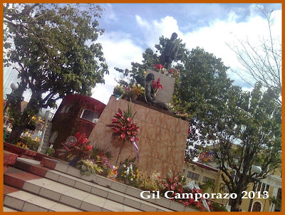 Rizal Monument in La Carlota City