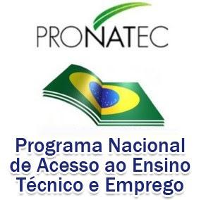 Pronatec Programa Nacional de Acesso ao Ensino T%C3%A9cnico e Emprego Cursos Técnicos Pronatec   SENAC e SENAI   2015
