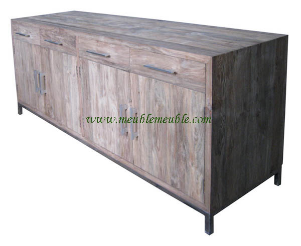 Reclaimed Wood Sideboard Furniture (5 Image)