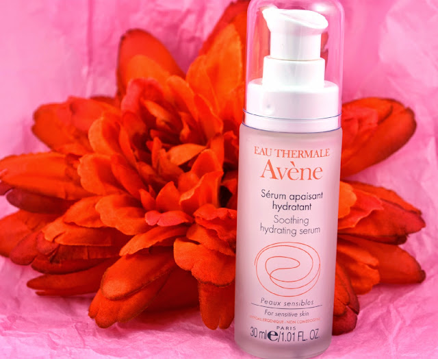 Avene - Soothing hydrating serum - Facial skincare - french skincare - skincare - swatch - review