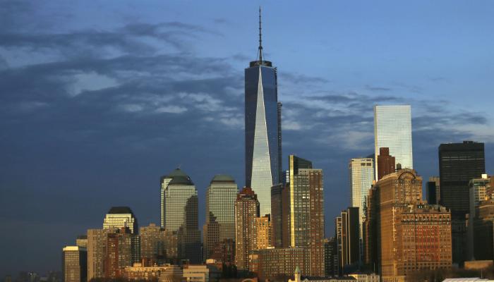 بعد تجديد البرجين احداث 11 سبتمبر