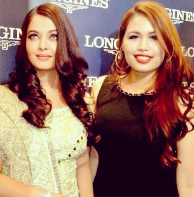 Aishwarya Rai launched the first Longines boutique in Malaysia.