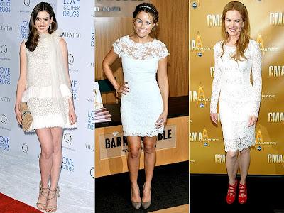 2012 Yılının Yeni Moda Trendi-Dantel Detaylar!