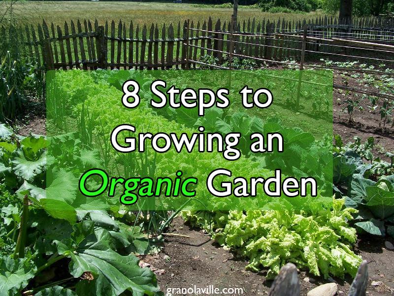 how to go ogenic garden
