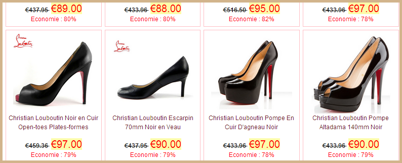 louboutin chaussures contrefacon