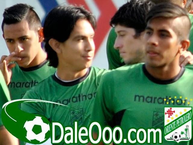 Oriente Petrolero - Marvin Bejarano - Carlos Añez - Rodrigo Vargas - Pedro Azogue - DaleOoo.com sitio del Club Oriente Petrolero