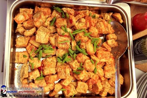 Eggplant and Tofu Schezuan