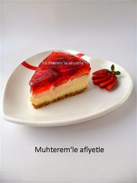 Çilekli Cheesecake