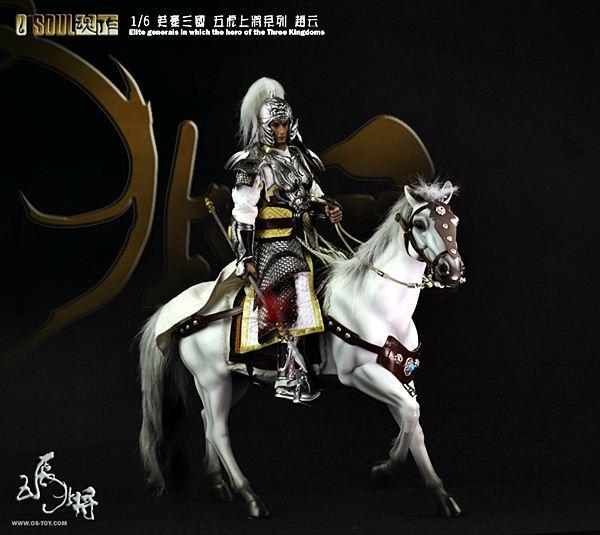 โมเดลสามก๊ก : จูล่ง O-SOUL Three Kingdoms