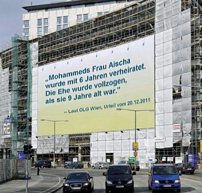 Vienna billboard, German