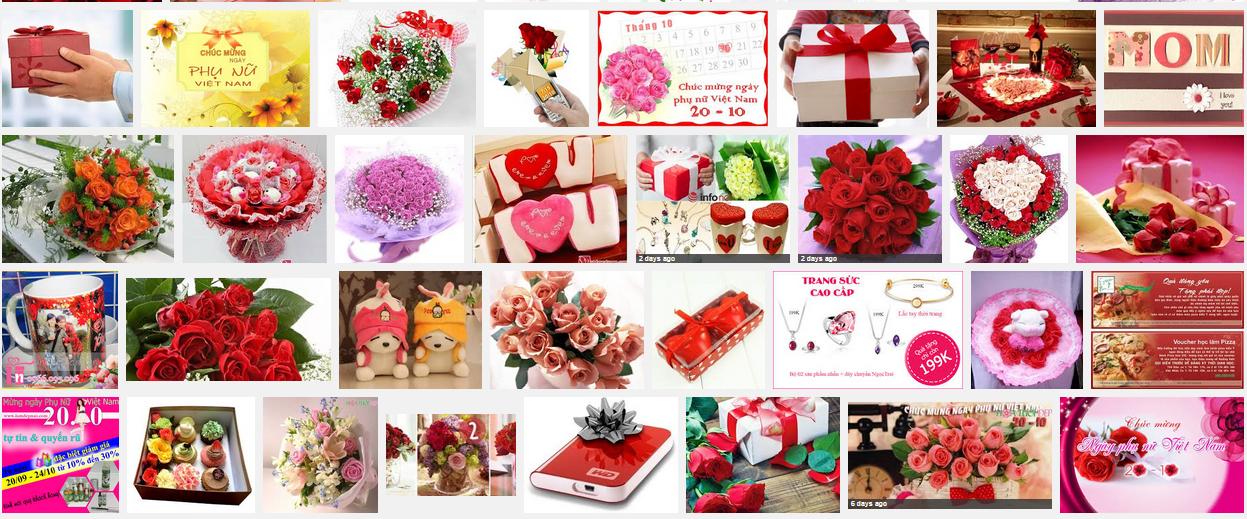 Cách chọn quà tặng bạn gái ngày phụ nữ Việt Nam 20-10