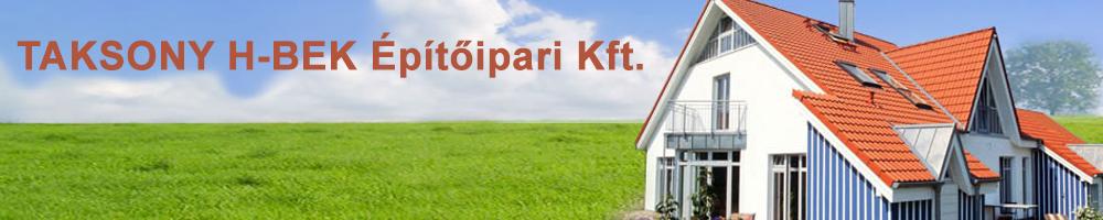 Taksony H-Bek Kft - Könnyűszerkezetes házak