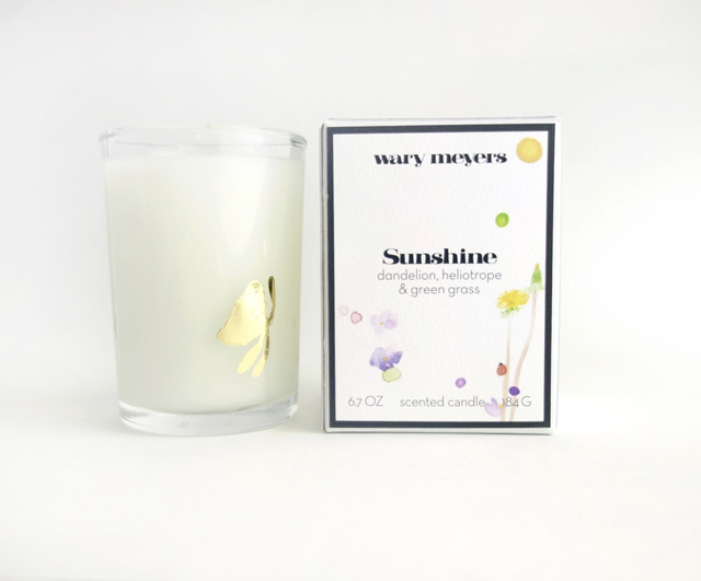 Wary Meyers Sunshine Candle