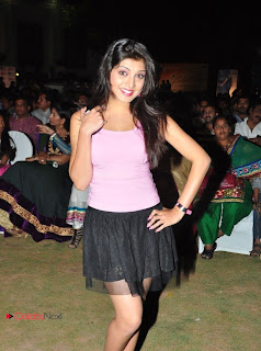 Priyadarshini  Picture Gallery in Black Mini Skirt at Sukumarudu Audio Launch  0016.jpg
