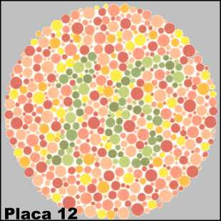Teste de Ishihara - Placa número 12