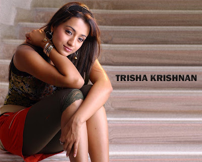 Trisha Krishnan wallpaper image