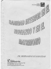 SANIDAD INTERIOR EN EL NOVIAZGO Y EN EL MATRIMONIO - BERNARDO STAMATEAS