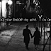 Cute love quotes facebook covers photos for timeline / fb cover with quote about love - Your words are my food, your breath my wine. You are everything to me. - Sarah Bernhardt / images of couples in love