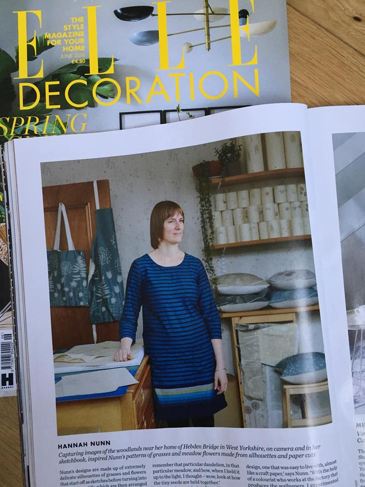 Featured in Elle Decoration magazine