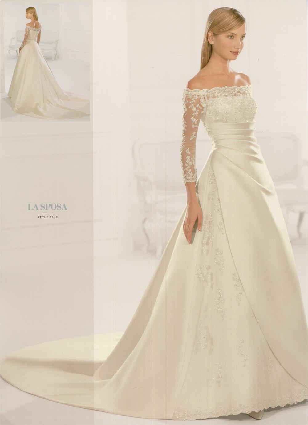 Long Sleeve Wedding Dresses Modern : Modern of design sleeved wedding dresses