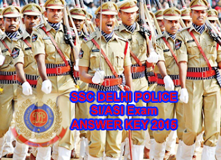 SSC Delhi Police SI and ASI Paper II Answer Key 2015, SSC CAPF SI Exam Key 30th August 2015, SSC CISF Sub Inspectors/SI Answer Key 2015 Download in pdf, SSC CPO Paper II 2015 SI ASI 30 August Answer Key Solved Paper ssc.nic.in. SSC Deli Police Answer Key of SI & ASI Vacancies