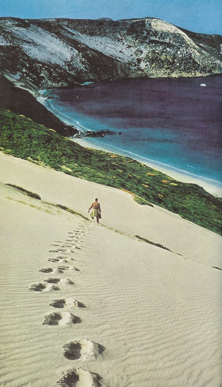 San Miguel Island, California.