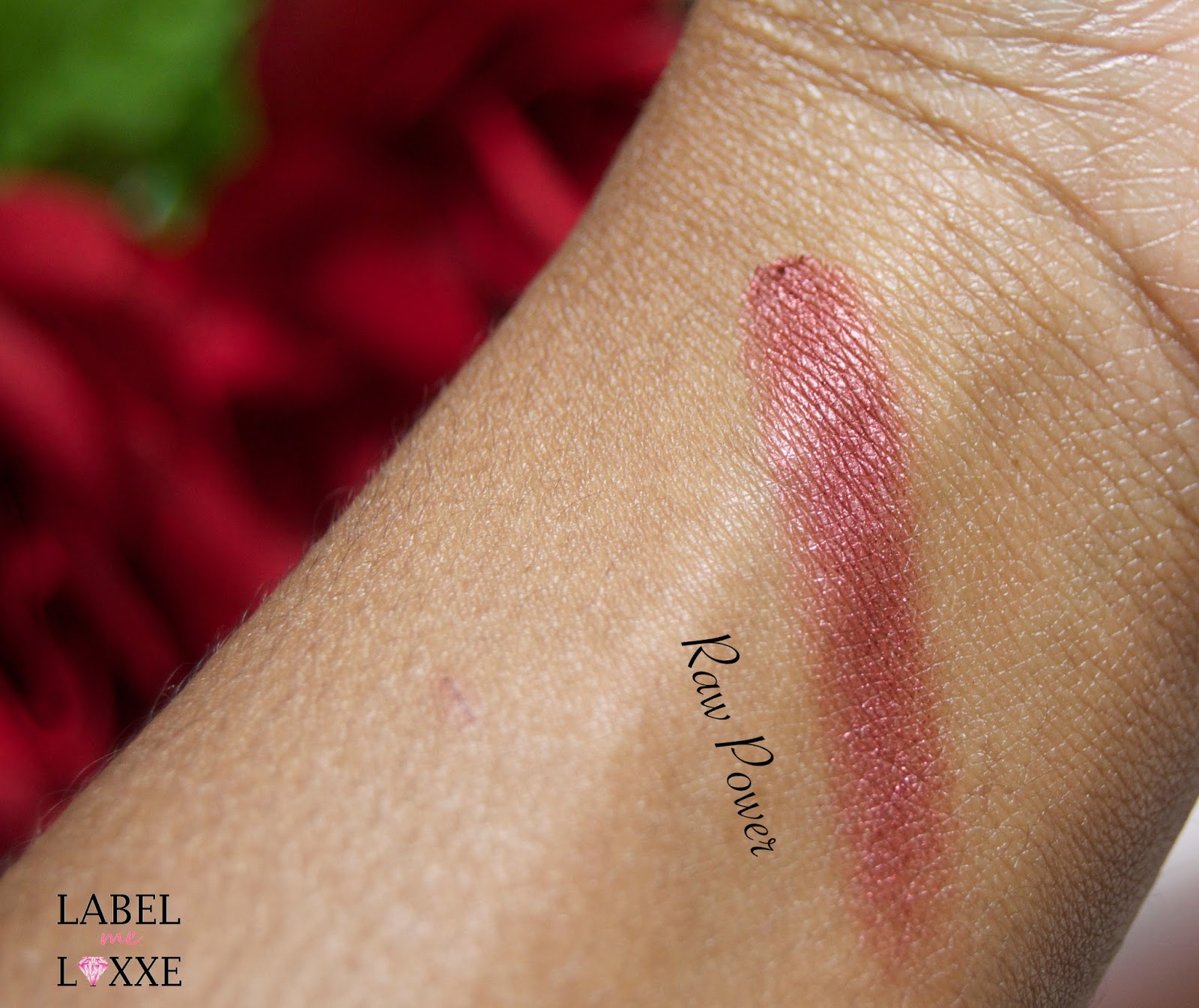 "Kat Von D ""Raw Power"" Swatch - Mahogany"
