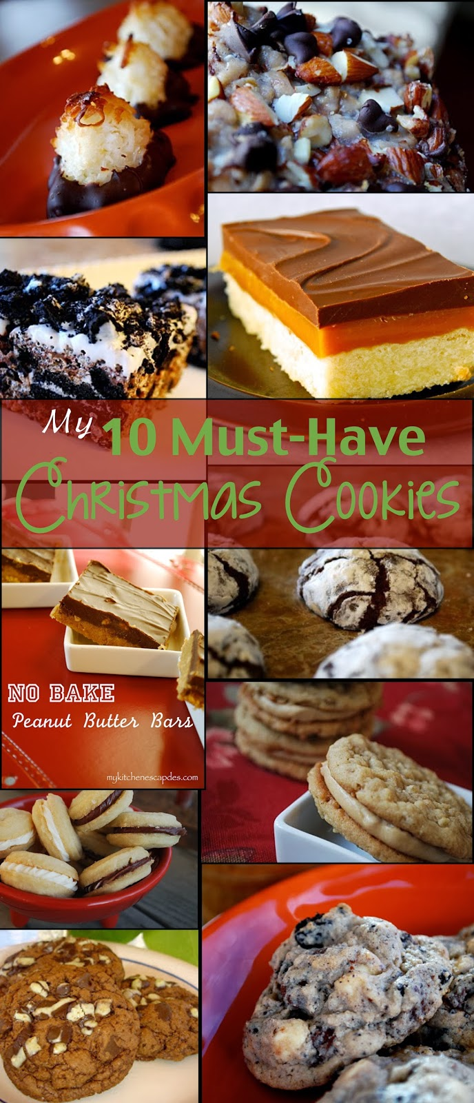 My 10 Must Have Christmas Cookie Recipes