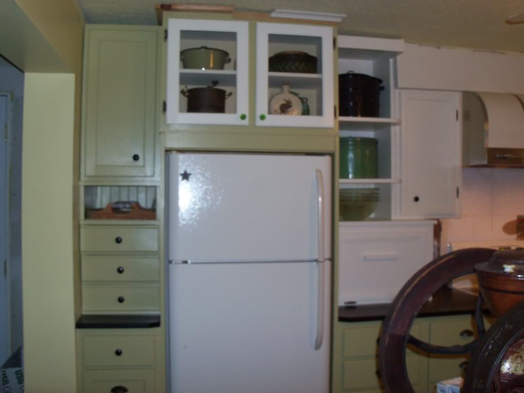 Salvage Kitchen Cabinets Staging Decorating On The Cheap New High End Doesnt Necessarily