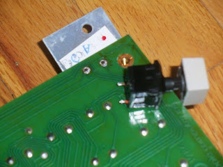 de-soldered reset key
