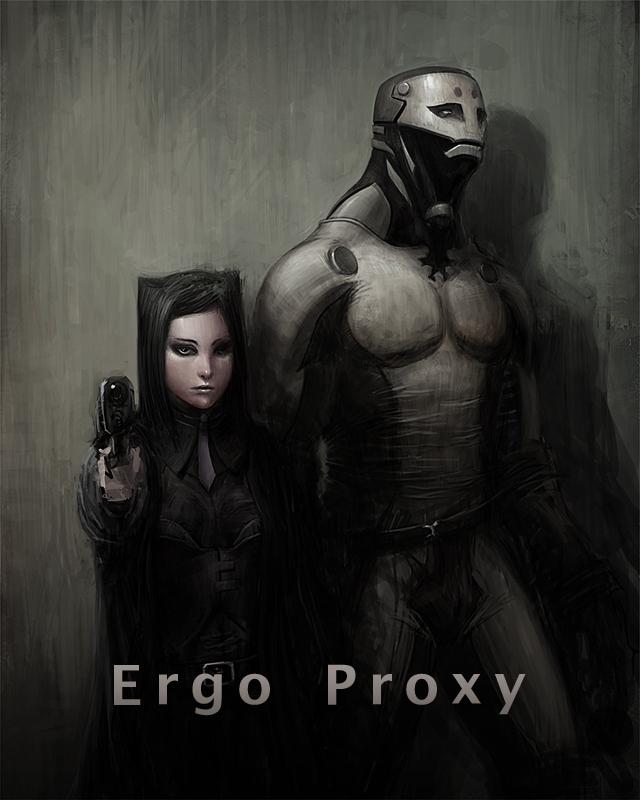 ergo proxy vincent wallpaper