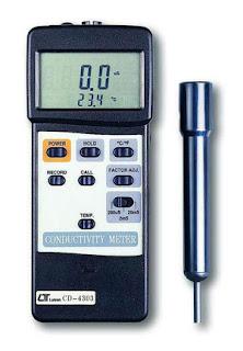 JUAL CONDUCTIVITY METER Lutron CD 4303 | 0821 4000 2080