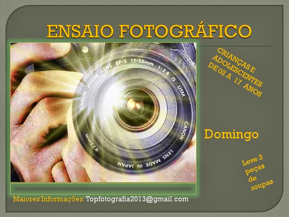 ENSAIO FOTOGRÁFICO