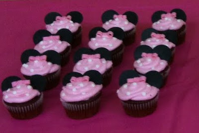 Minnie Mouse Cupcakes Ideas